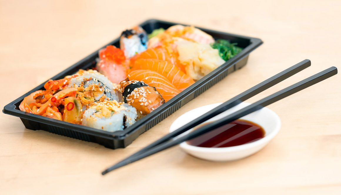 Sushi Type For Lunch